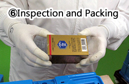 6.Inspection and Packing